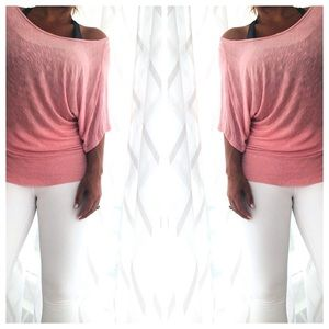 Soft Slouchy Banded Tee by Twenty One